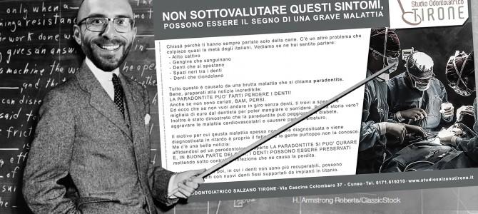 SECONDO VIDEO TUTORIAL SULLA COSTRUZIONE DI UNA PUBBLICITA' SANITARIA A NORMA: MARKETING DI CONTENUTO